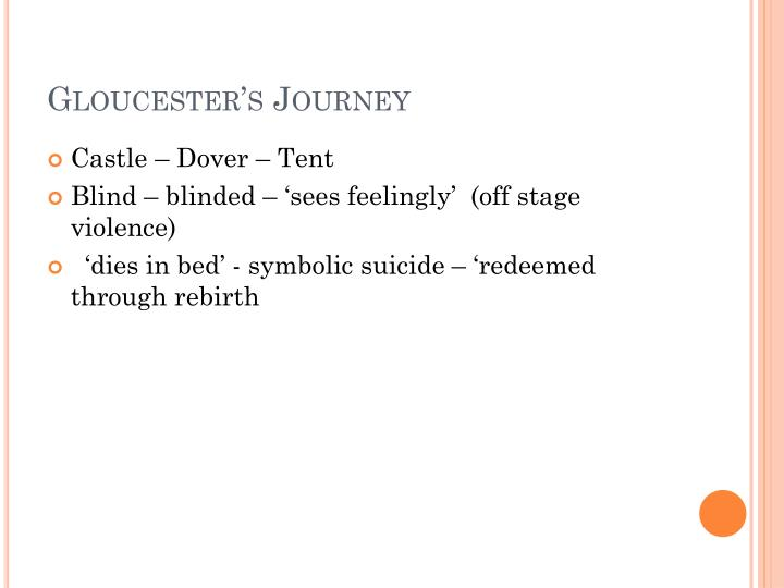 Gloucester's Journey