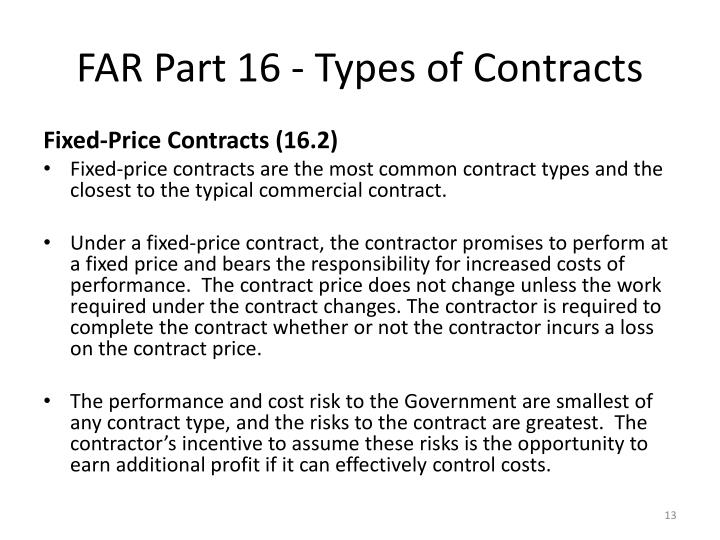 federal contracting activties and contract types To enact certain laws relating to public contracts as title 41, united states code  '' public contracts''  (a) is of a type customarily used by the general public  (5)  providing for and directing the activities of the federal.