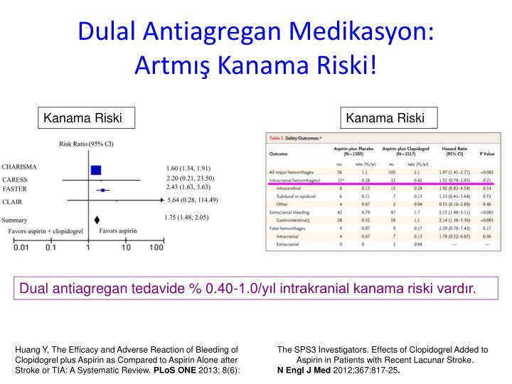 Dulal Antiagregan Medikasyon: