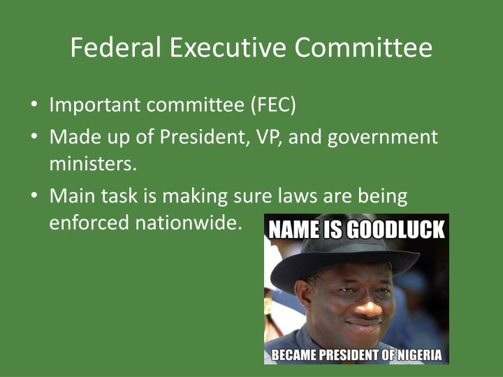 Federal Executive Committee