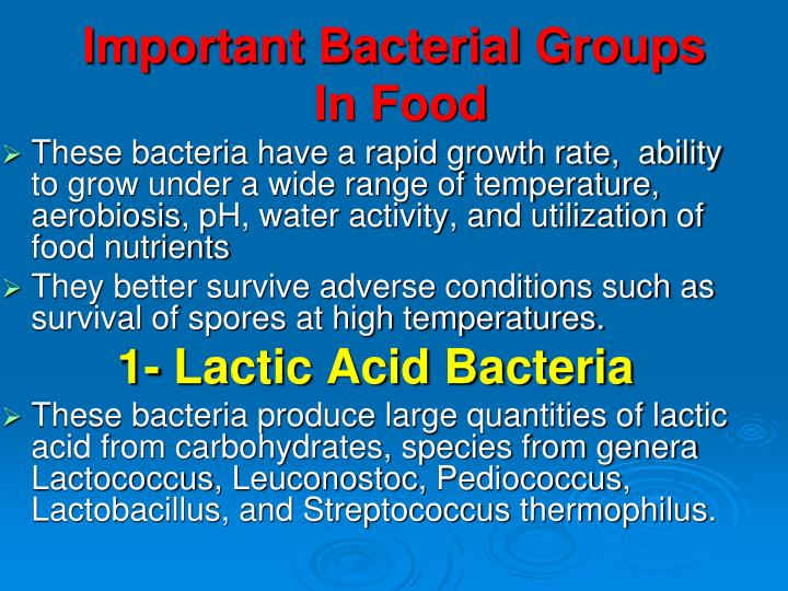 Important Bacterial