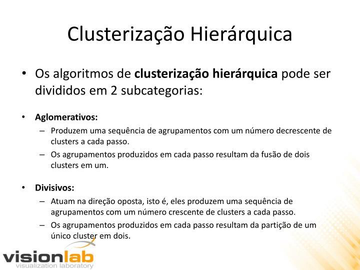 Clusterização