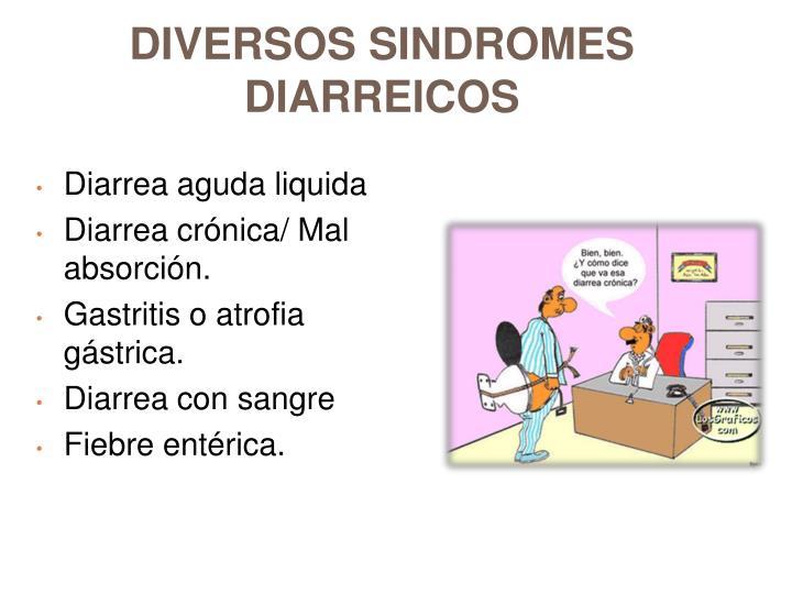 DIVERSOS SINDROMES DIARREICOS