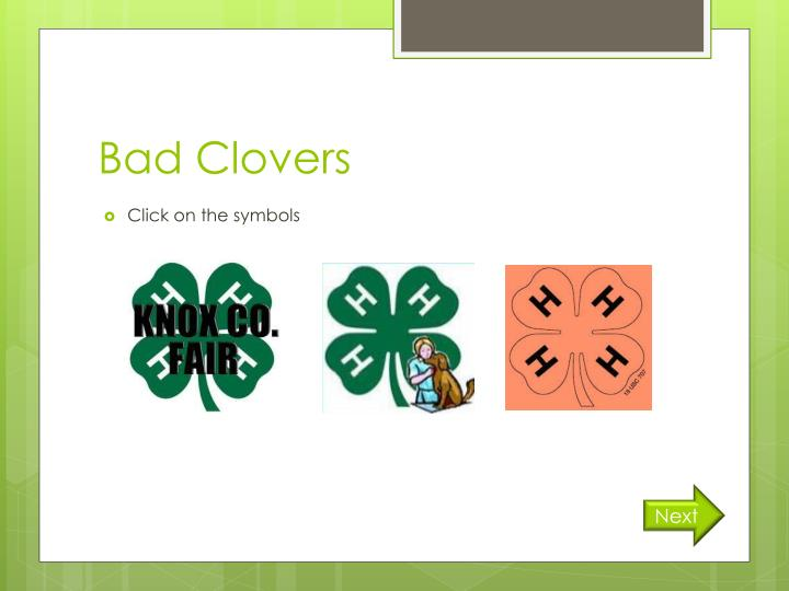 Bad Clovers