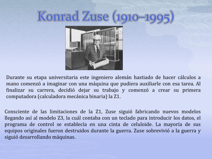 Konrad Zuse (1910–1995)