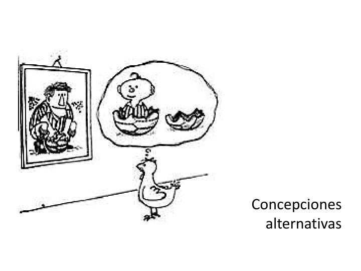 Concepciones alternativas