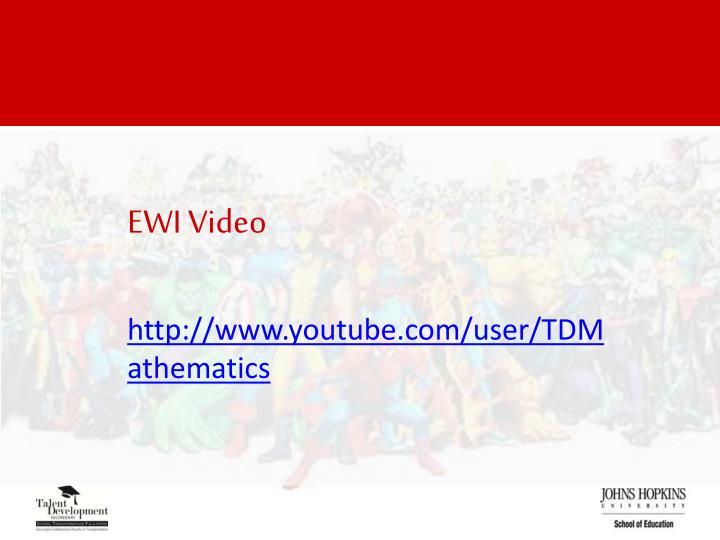 EWI Video