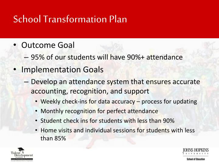 School Transformation Plan