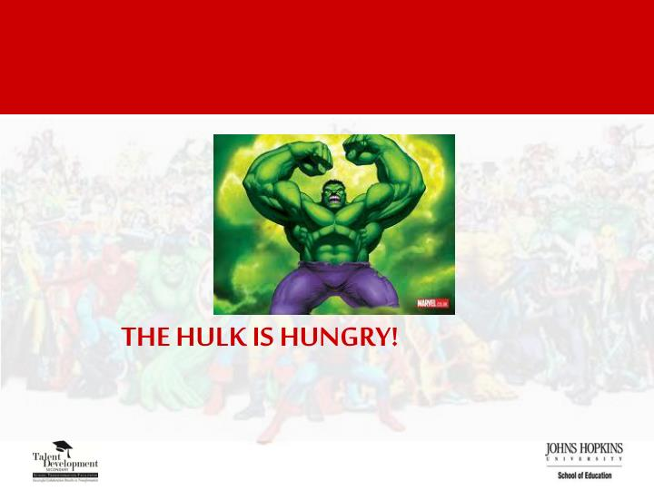 The HULK Is