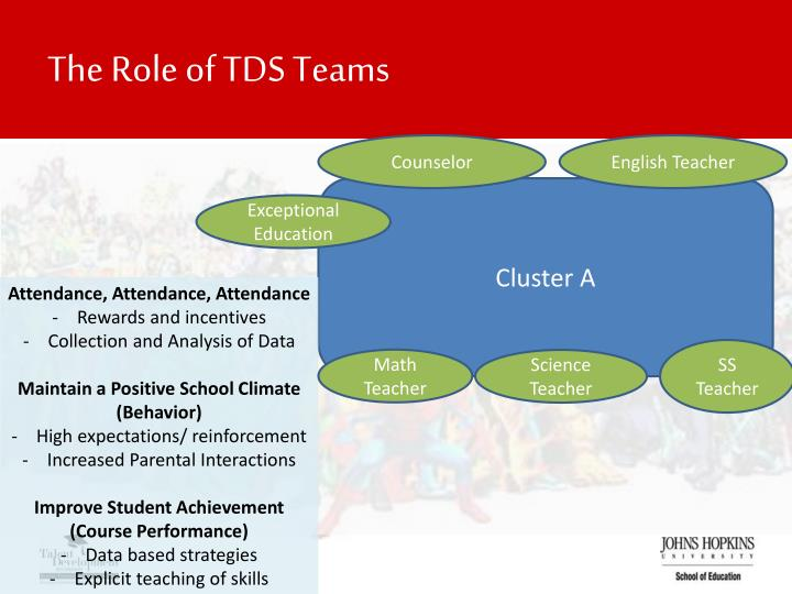 The Role of TDS Teams