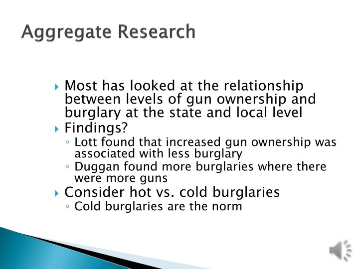 Aggregate Research
