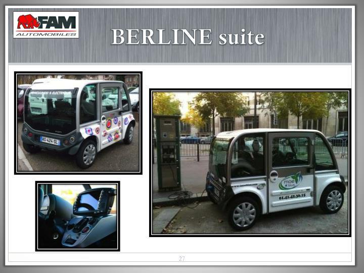 BERLINE suite