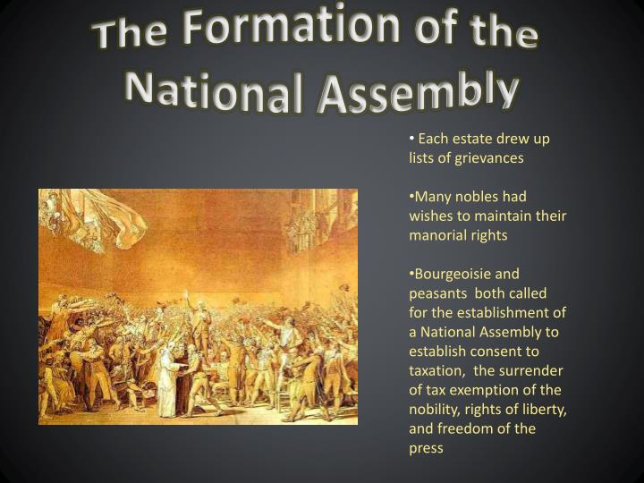The Formation of the
