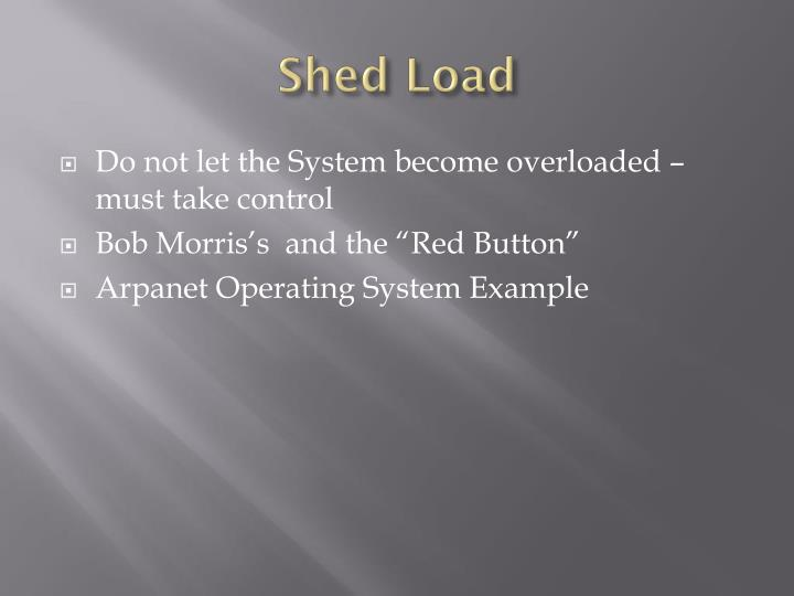 Shed Load