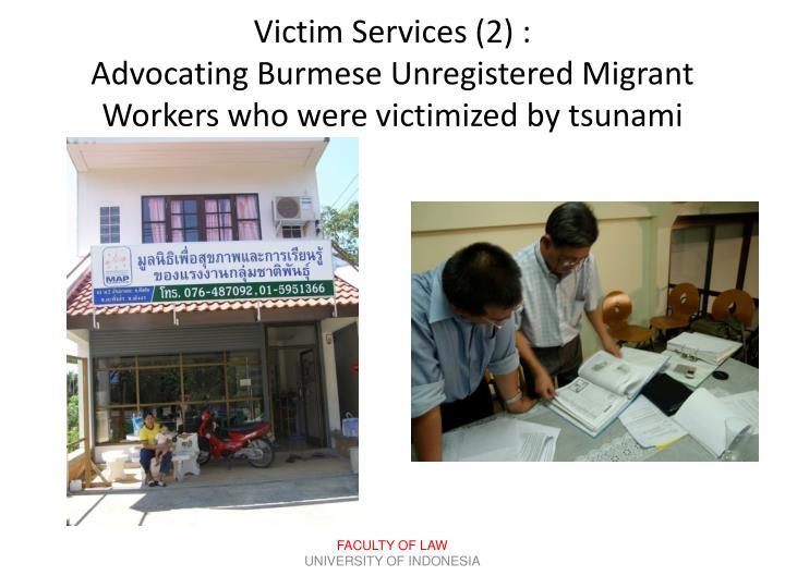 Victim Services (
