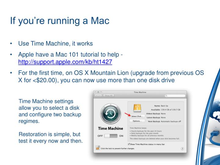 If you're running a Mac
