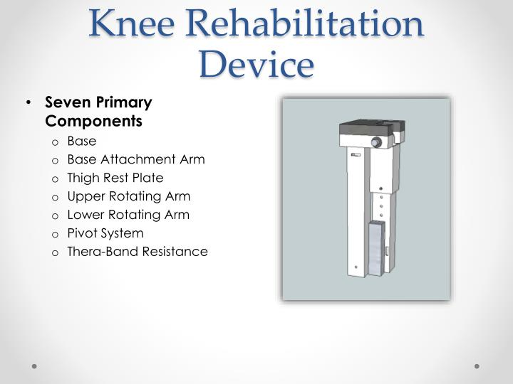 Knee Rehabilitation Device