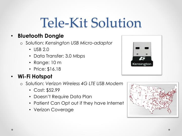 Tele-Kit Solution