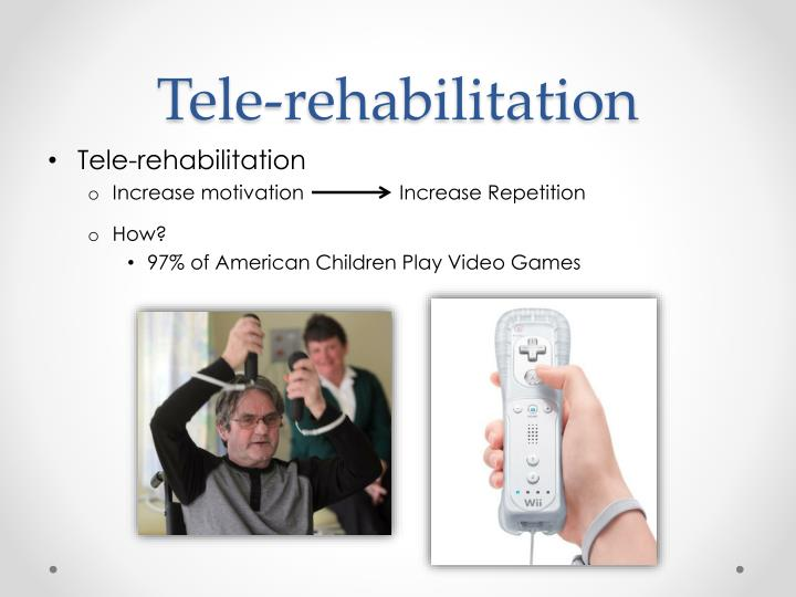 Tele-rehabilitation
