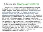 a conclusion psychoanalytical lens2