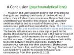 a conclusion psychoanalytical lens3