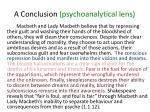 a conclusion psychoanalytical lens4