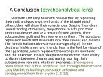 a conclusion psychoanalytical lens5