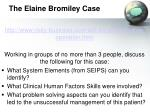 the elaine bromiley case