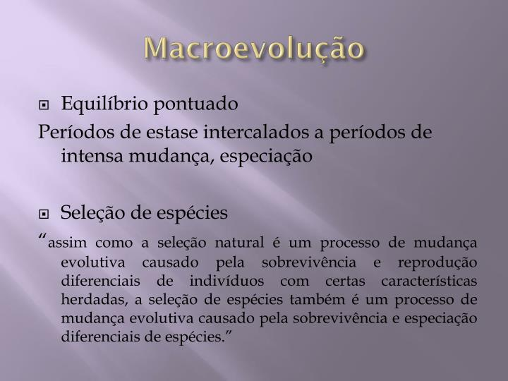 Macroevolução