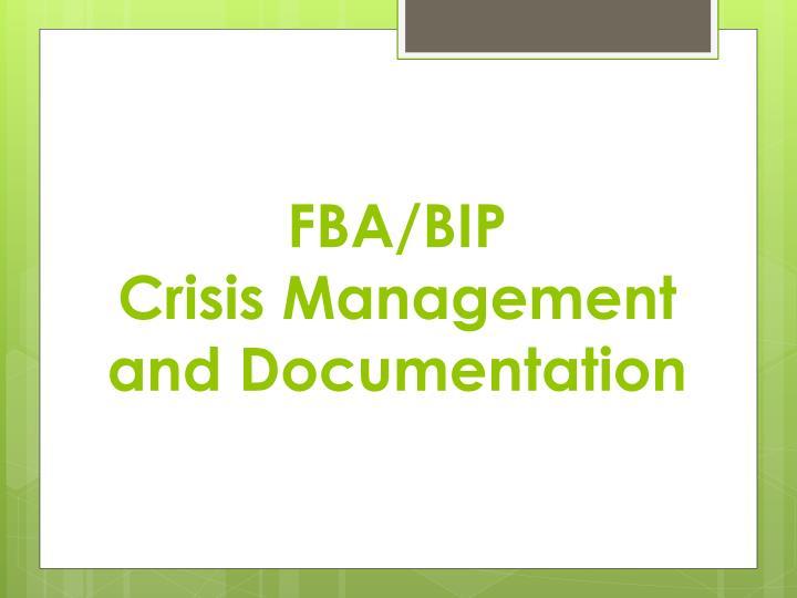 FBA/BIP