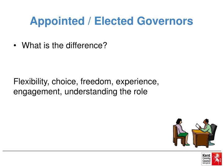 Appointed / Elected Governors