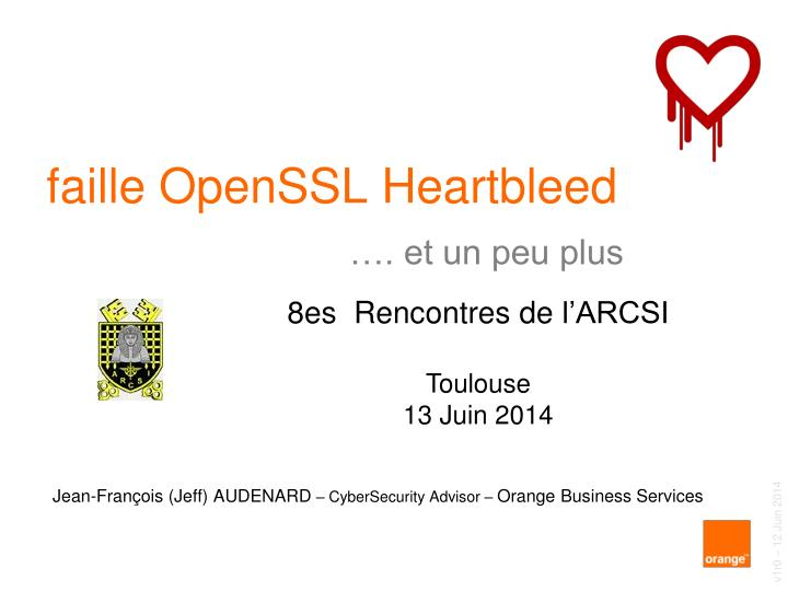 Faille openssl heartbleed