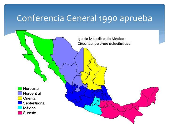 Conferencia General 1990 aprueba