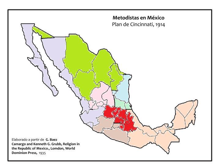 Metodistas en México