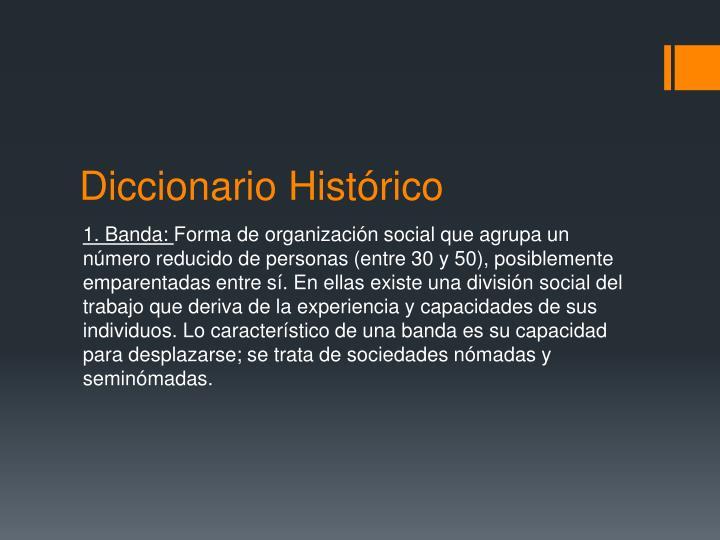 Diccionario Histórico