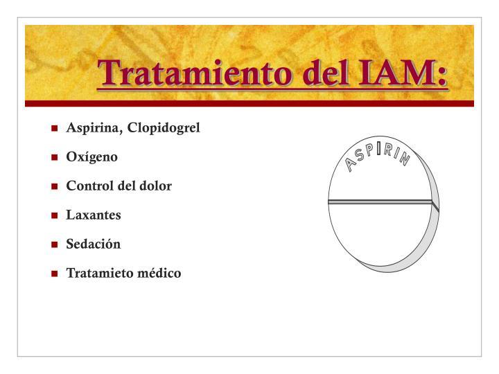 Tratamiento del IAM: