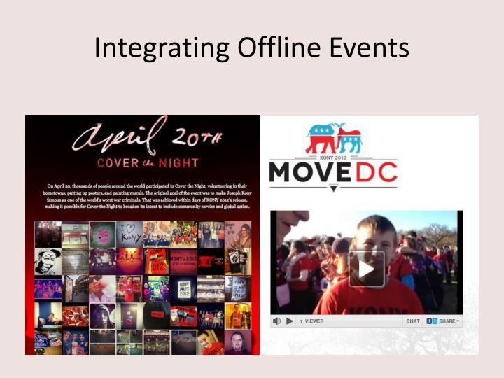 Integrating Offline Events