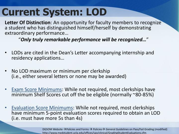 Current system lod