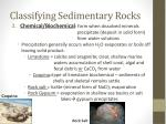 classifying sedimentary rocks1