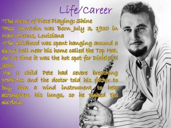 Life/Career