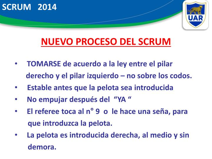 SCRUM   2014