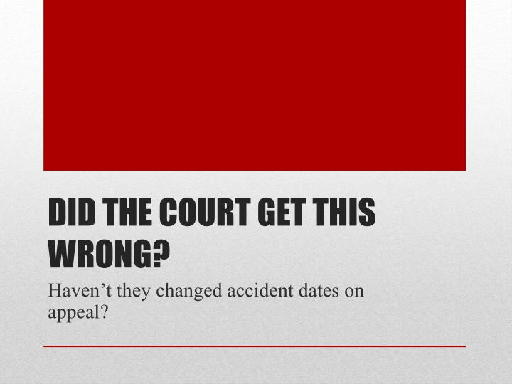 Did the court get this wrong?