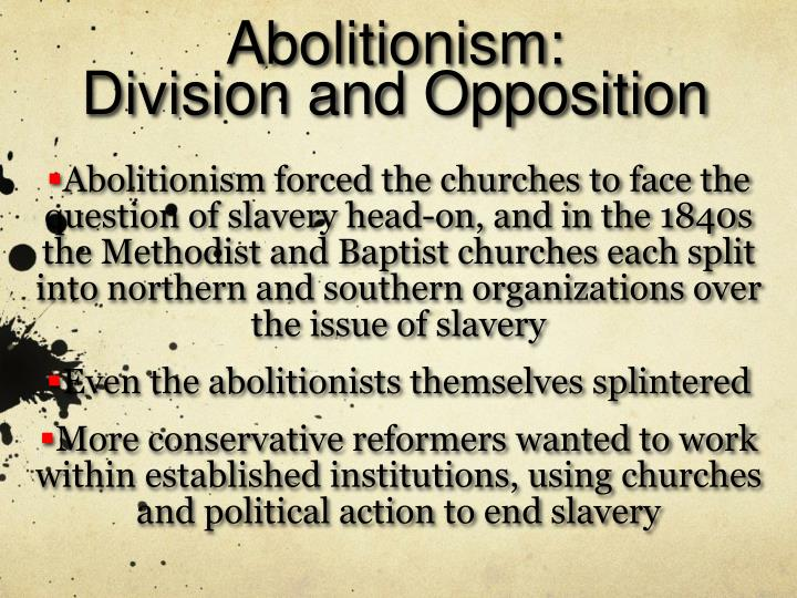 Abolitionism: