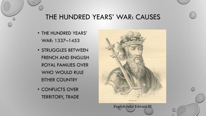 The Hundred Years' War: 1337