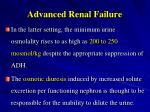 advanced renal failure1