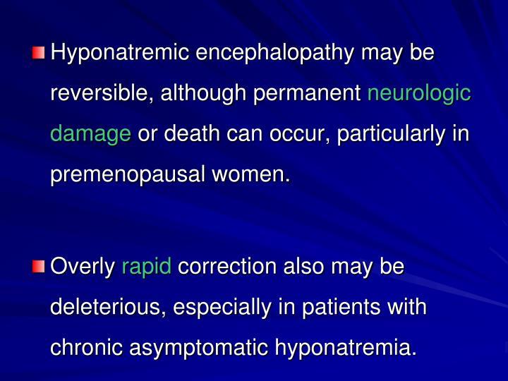 Hyponatremic