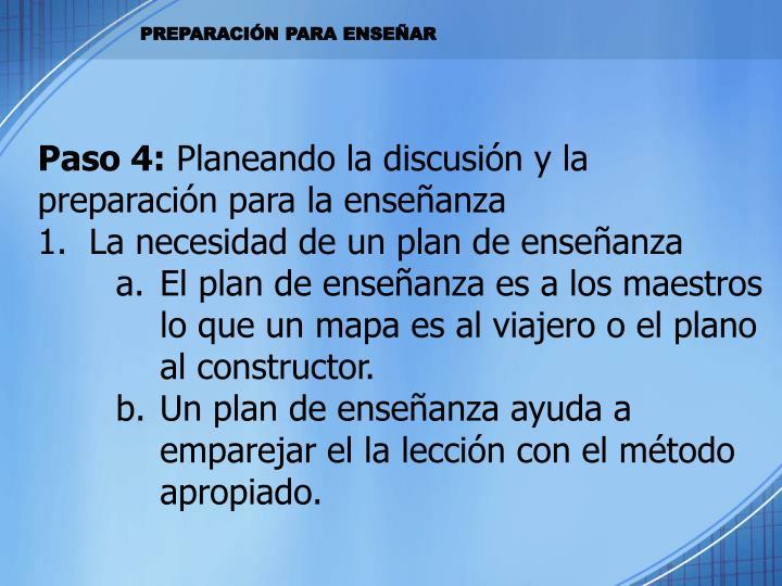 Paso 4: