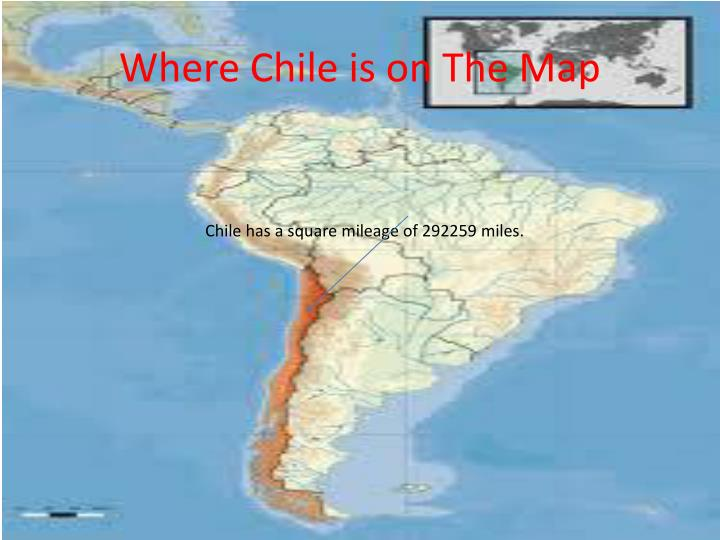 Where chile is on the map