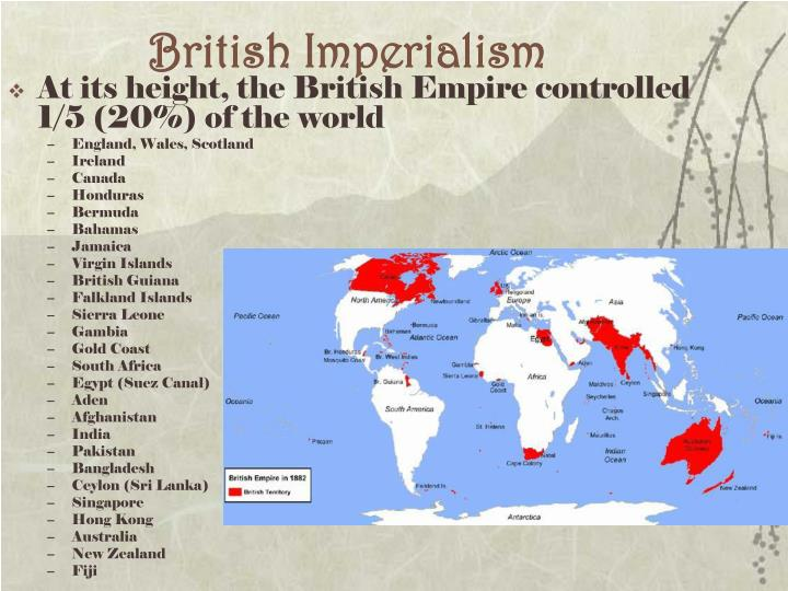 british empire and great power The british empire was made up of the after the union between england and scotland in 1707, great britain) became the main colonial power in north america and.