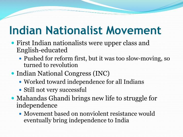 indian national movement Indian national movement mcq is an important topic for competitive exams prepared for the aspirants to crack the exams which ask the questions on india national movement.